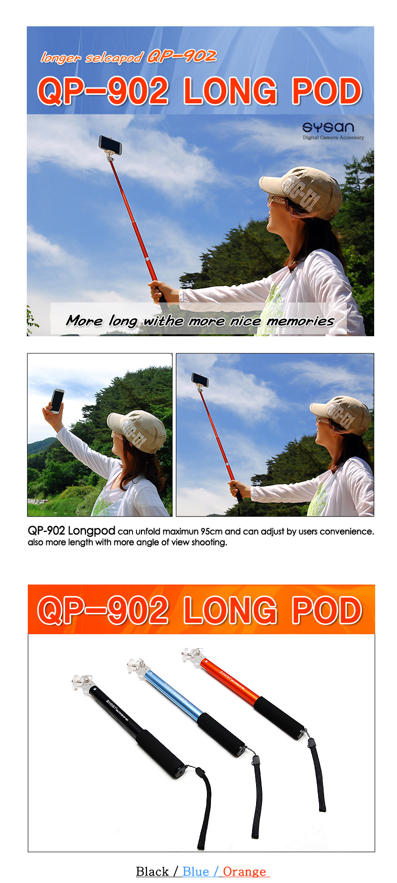 Every Need Want Day Fotopro Monopod Qp 902 White Sysan